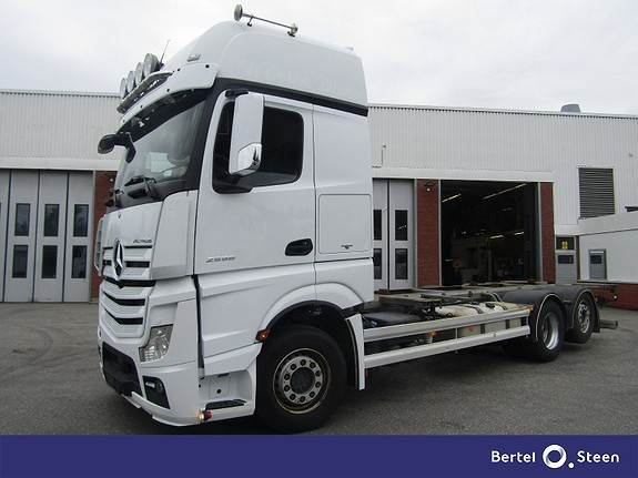 Mercedes-Benz ACTROS 2558L/49, Containerbil, Transport