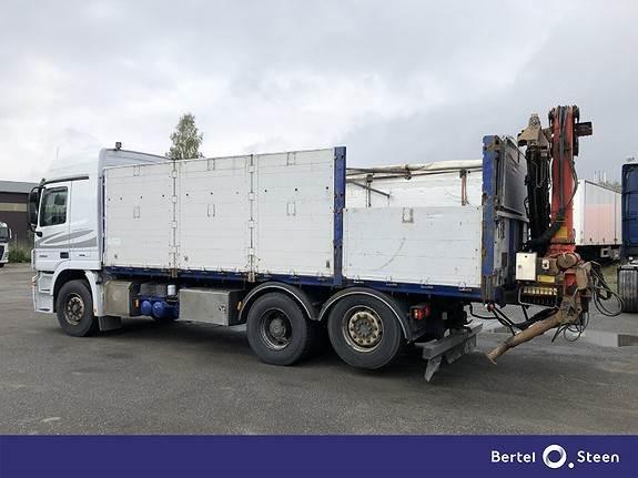 Mercedes-Benz ACTROS 2560L/45 6X2M, Kranbil, Transport