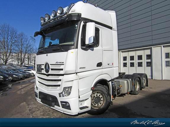 Mercedes-Benz ACTROS 2563L/35, Trekkvogner, Transport
