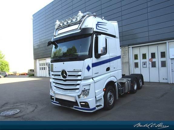 Mercedes-Benz ACTROS 2563LS, Andre lastebiler, Transport