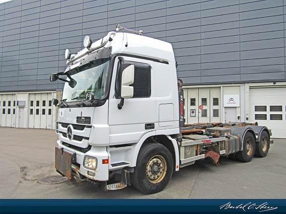 Mercedes-Benz ACTROS 2648 L, Kabelløft lastebiler, Transport
