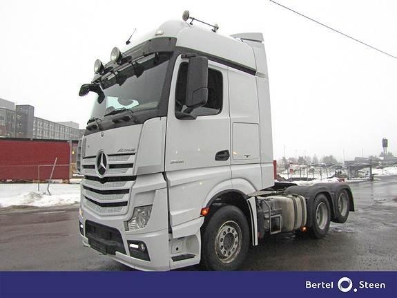Mercedes-Benz ACTROS 2651, Euro 6, Tvillingboggi, Trekkvogner, Transport