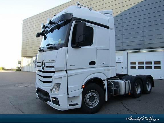 Mercedes-Benz ACTROS 2651L/325 DNA, Trekkvogner, Transport