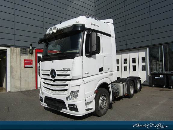Mercedes-Benz ACTROS 2651L/325 DNA, Trekkvogner, Transport