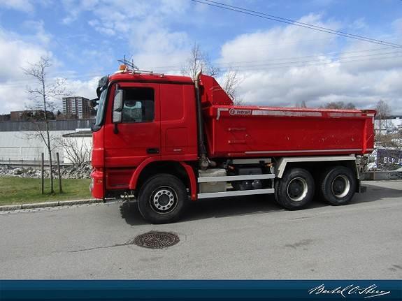 Mercedes-Benz Actros 2655 Istrail, Tippbil, Transport
