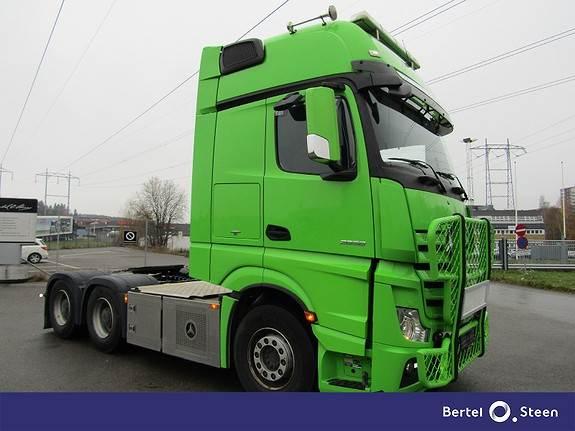 Mercedes-Benz ACTROS 2658LS Tandem 6X4 FJ Påbygg, Trekkvogner, Transport