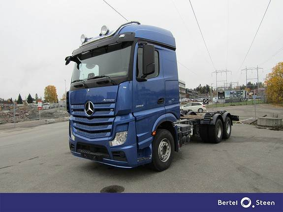 Mercedes-Benz ACTROS 2663, Andre lastebiler, Transport