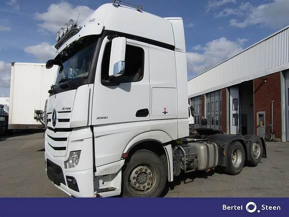 Mercedes-Benz ACTROS, Trekkvogner, Transport