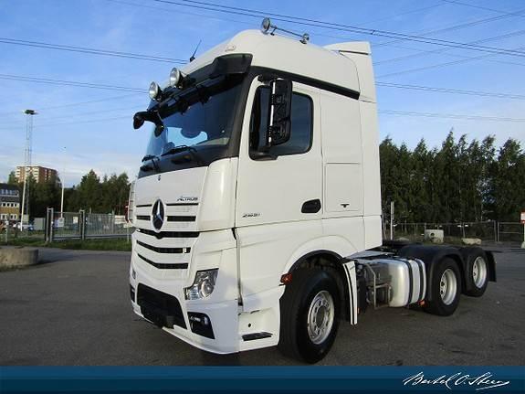 Mercedes-Benz Actros hydraulikk girkasse, DNA, Euro 6, Trekkvogner, Transport