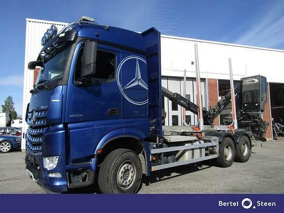 Mercedes-Benz AROCS, Andre lastebiler, Transport