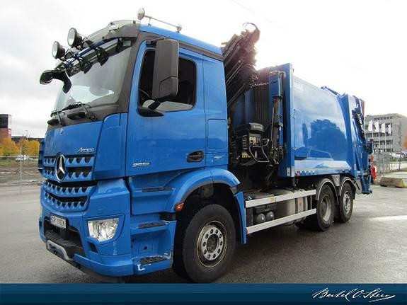 Mercedes-Benz AROCS 2651, Andre lastebiler, Transport