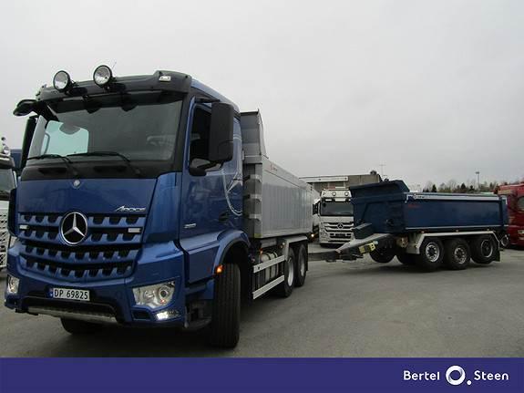 Mercedes-Benz AROCS 2651LK 6X4 ALUTIPP, Tippbil, Transport