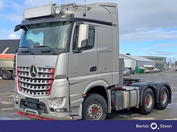 Mercedes-Benz AROCS 3358LS Euro 6, tippsemi, se video, Trekkvogner, Transport