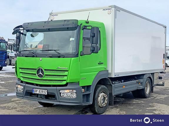 Mercedes-Benz Atego 1223L Euro 6, Se videovisning av bil, Skapbiler, Transport