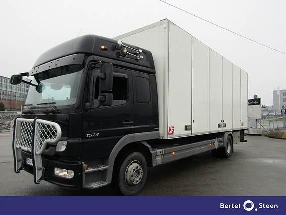 Mercedes-Benz Atego 1524L/54AT skapbil med sideåpning., Skapbiler, Transport