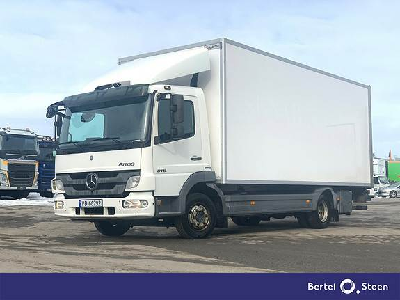 Mercedes-Benz Atego 818L 15 Paller skap m sidedør, se video, Skapbiler, Transport