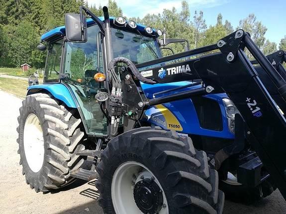 New Holland T5050 - Traktorer - Landbruk - Lantmännen