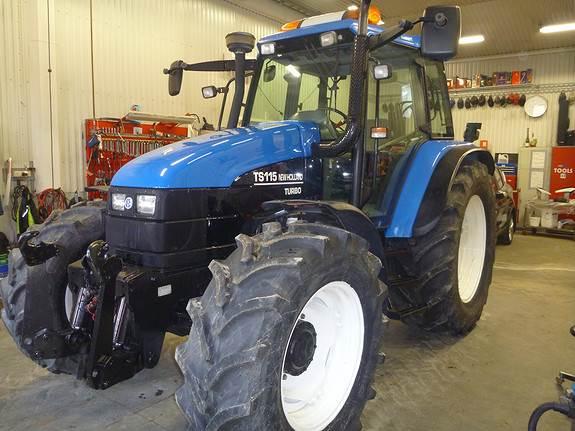 New Holland TS115, Traktorer, Landbruk