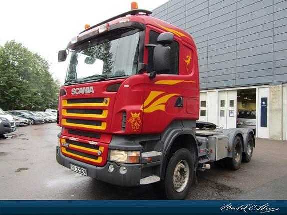 Scania CA6X4HHZ, Trekkvogner, Transport