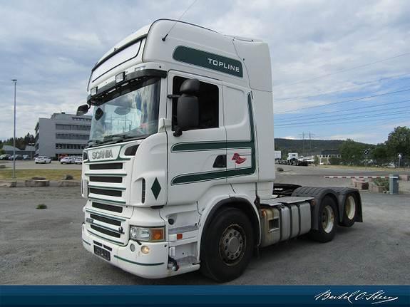 Scania R500 LA6X2 HNB, Trekkvogner, Transport