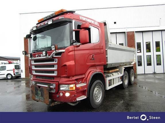Scania R560CB6X4HHZ Brøytebil Tellefsdal, Tippbil, Transport