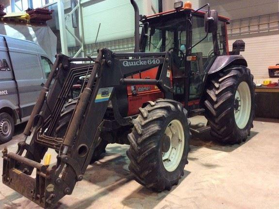 Valmet 865S TURBO, Traktorer, Landbruk