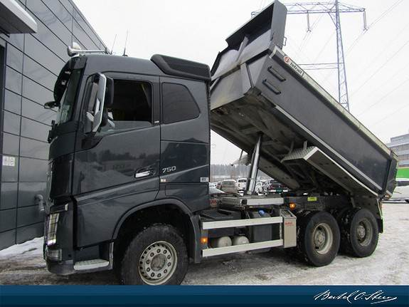 Volvo FH16, Tippbil, Transport