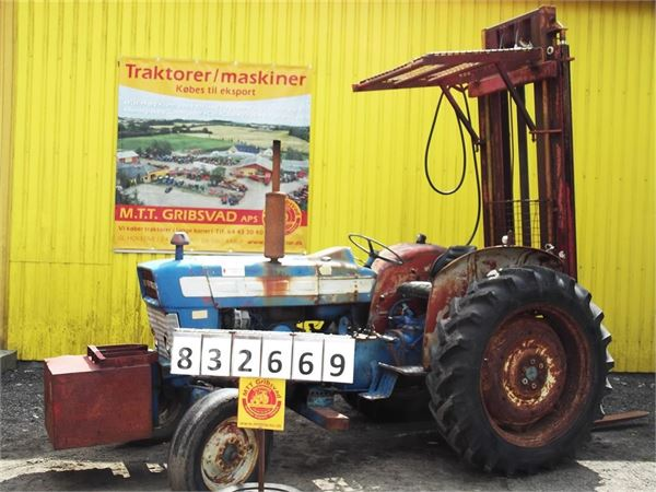 Ford 3550 Tractor : Used ford byggelift tractors price for sale
