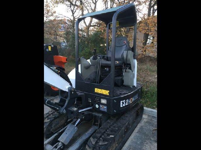Bobcat E 32, Mini digger, Construction Equipment