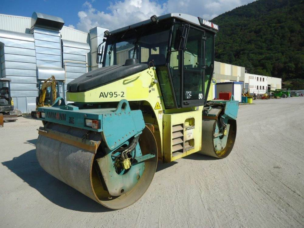 Ammann AV95.2, Other rollers, Construction Equipment