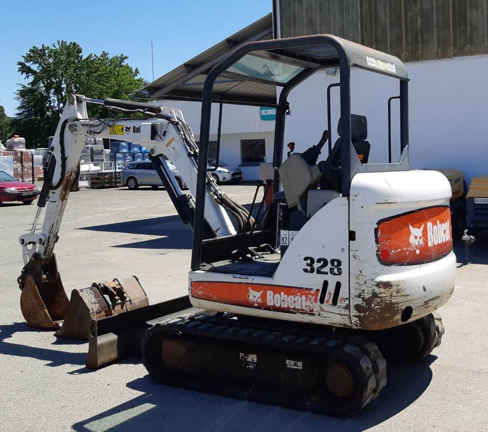 Bobcat 328, Mini Excavators <7t (Mini Diggers), Construction Equipment