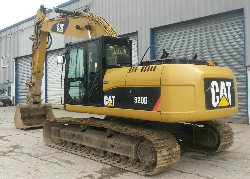 Caterpillar 320D, Crawler Excavators, Construction Equipment