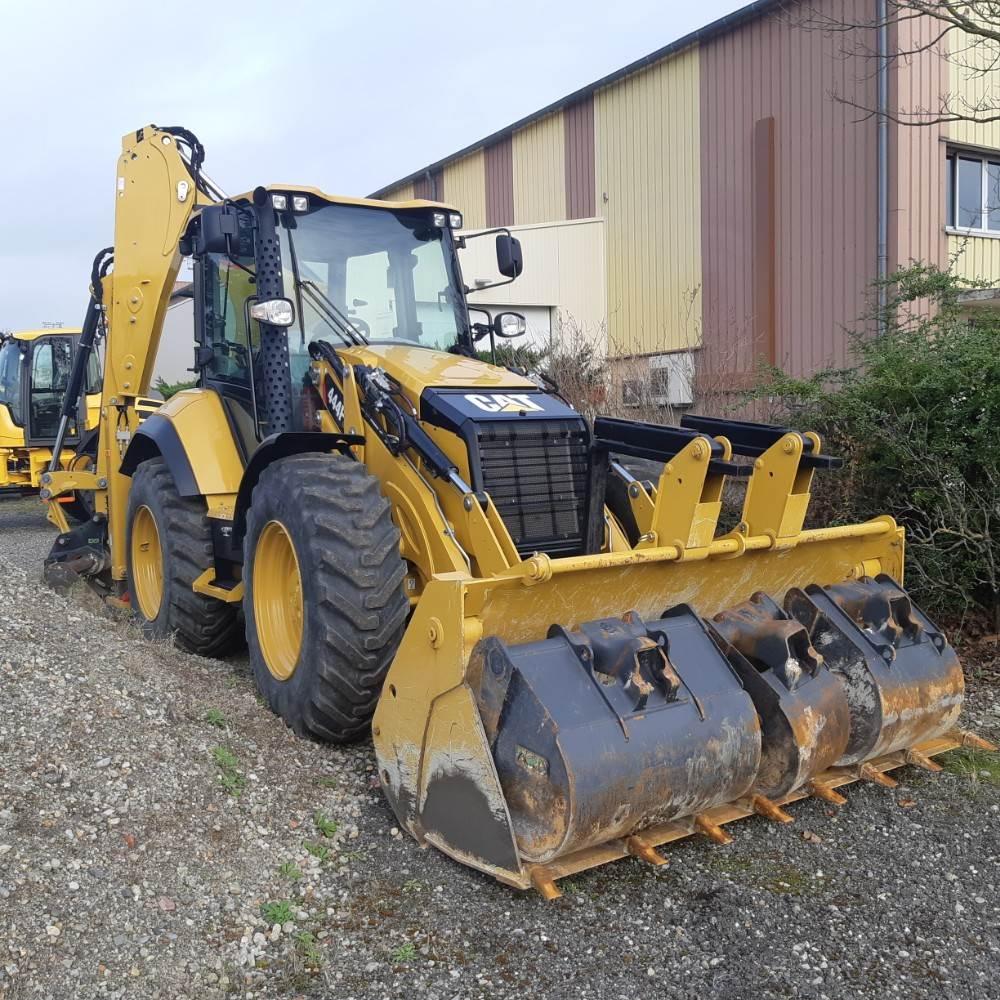 Caterpillar 444F2, Backhoe Loaders, Construction Equipment