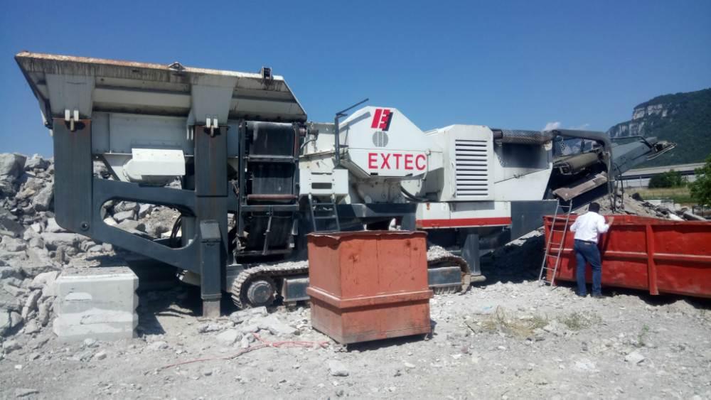 Extec MEGA BITE, Crushers, Construction Equipment