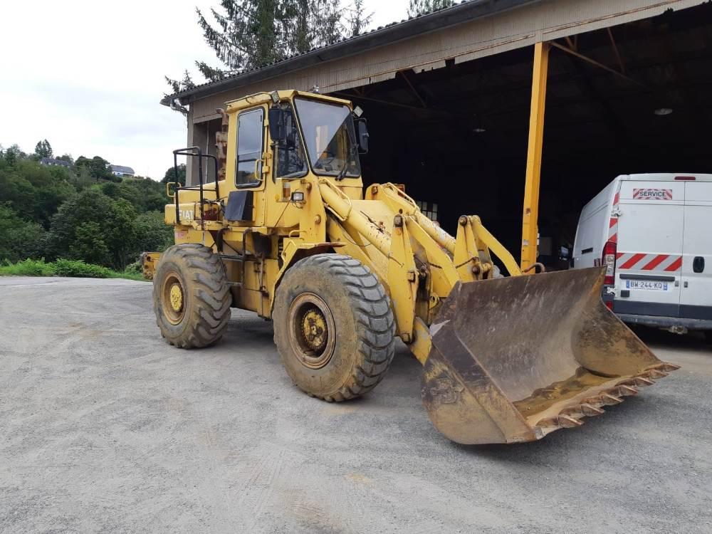 Fiat-Allis FR15B, Wheel Loaders, Construction Equipment