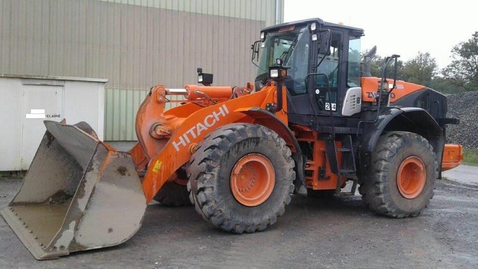 Hitachi ZW250-5B, Wheel Loaders, Construction Equipment