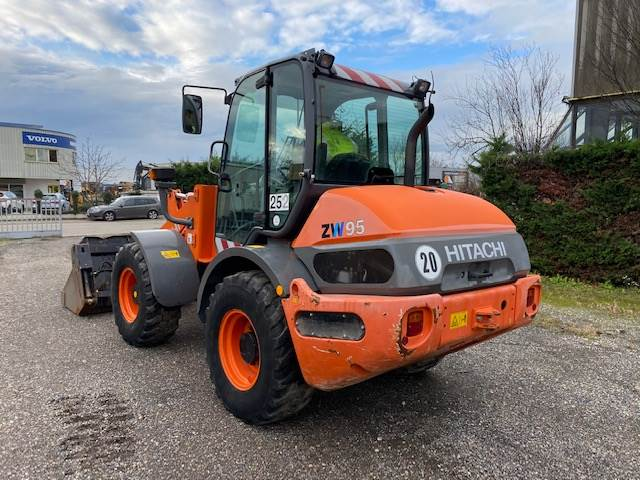 Hitachi ZW95, Mini Loader, Construction Equipment