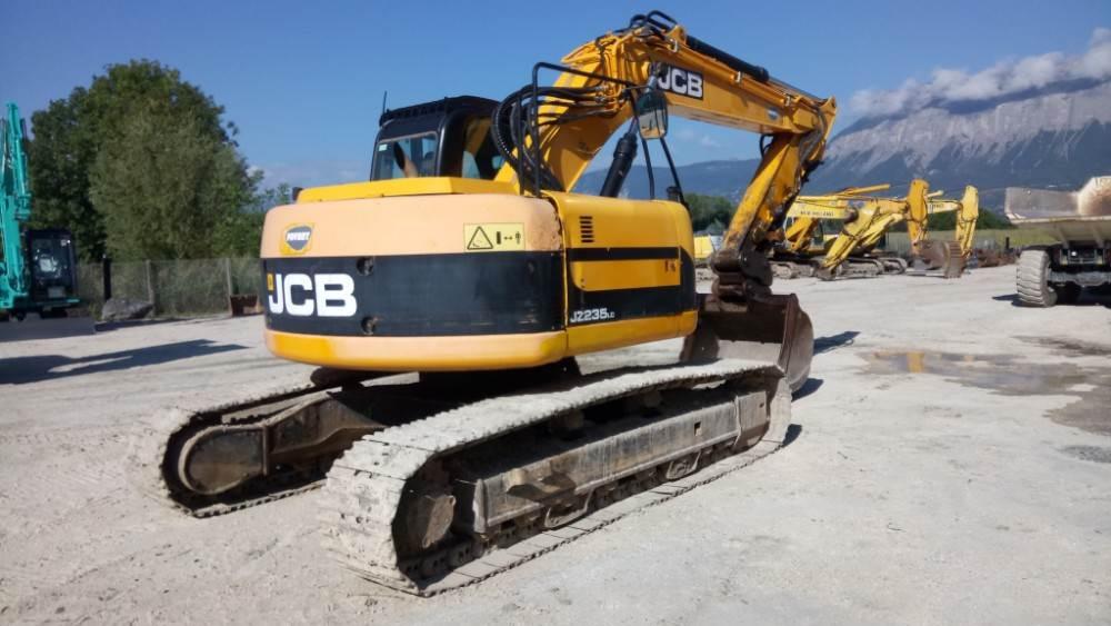 JCB JZ235LC, Crawler Excavators, Construction Equipment