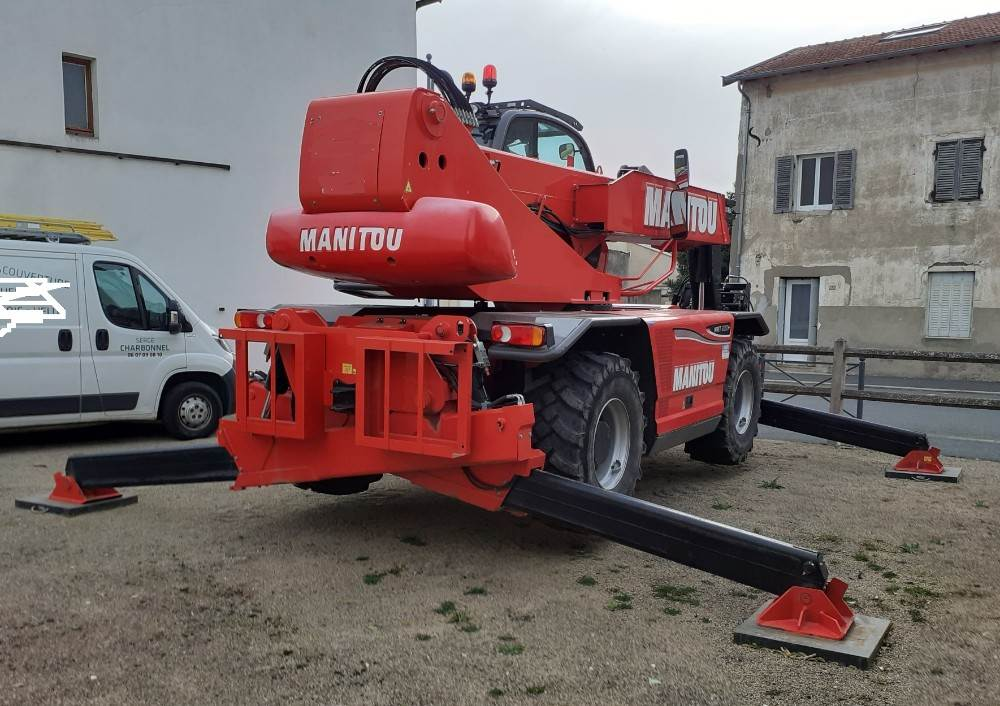 Manitou MRT2150, Telescopic Handlers, Construction Equipment
