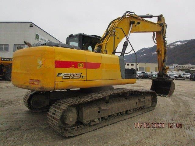 New Holland E215CLC, Crawler Excavators, Construction Equipment