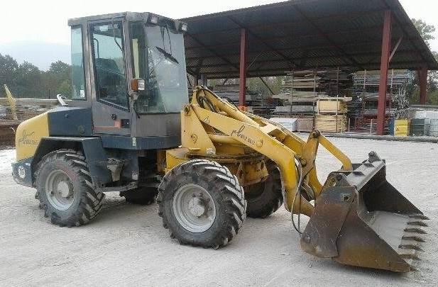 Paus 652SLB, Mini Loader, Construction Equipment