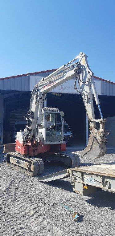 Takeuchi TB180FR, Mini excavators  7t - 12t, Construction Equipment