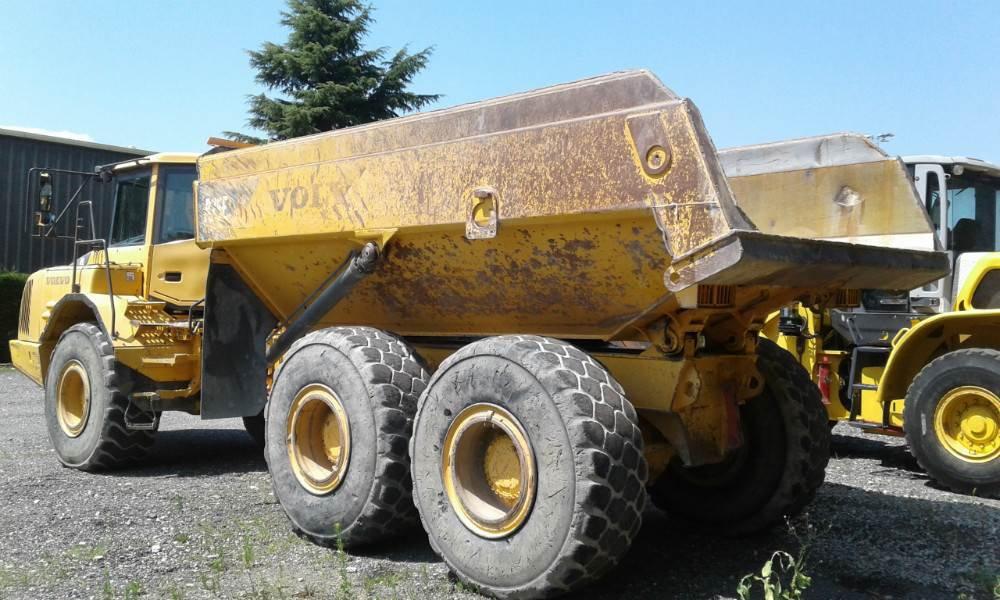 Volvo A25E, Other, Construction