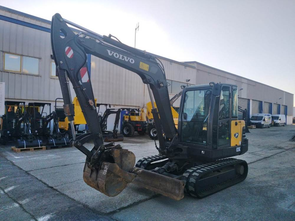 Volvo EC55C, Mini Excavators <7t (Mini Diggers), Construction Equipment
