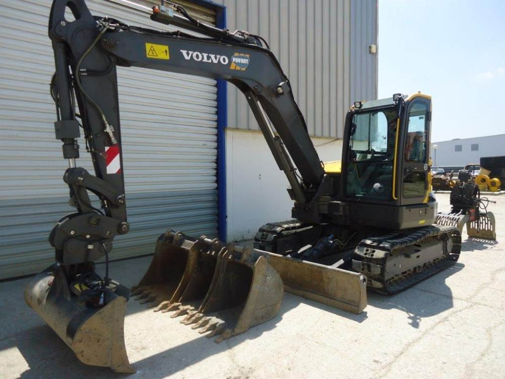 Volvo ECR88D, Mini excavators  7t - 12t, Construction Equipment