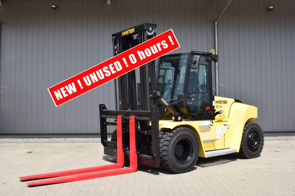 Hyster H 12.00 XD 6, Diesel counterbalance Forklifts, Material Handling