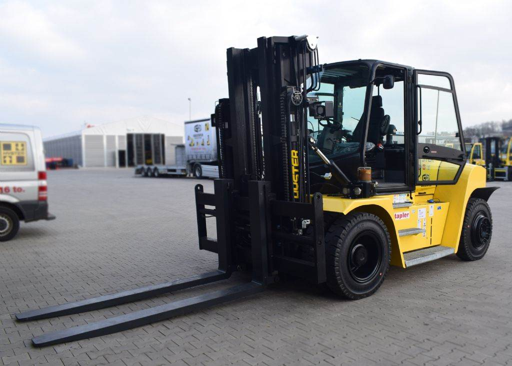 Hyster H 12.00 XM6, Diesel counterbalance Forklifts, Material Handling