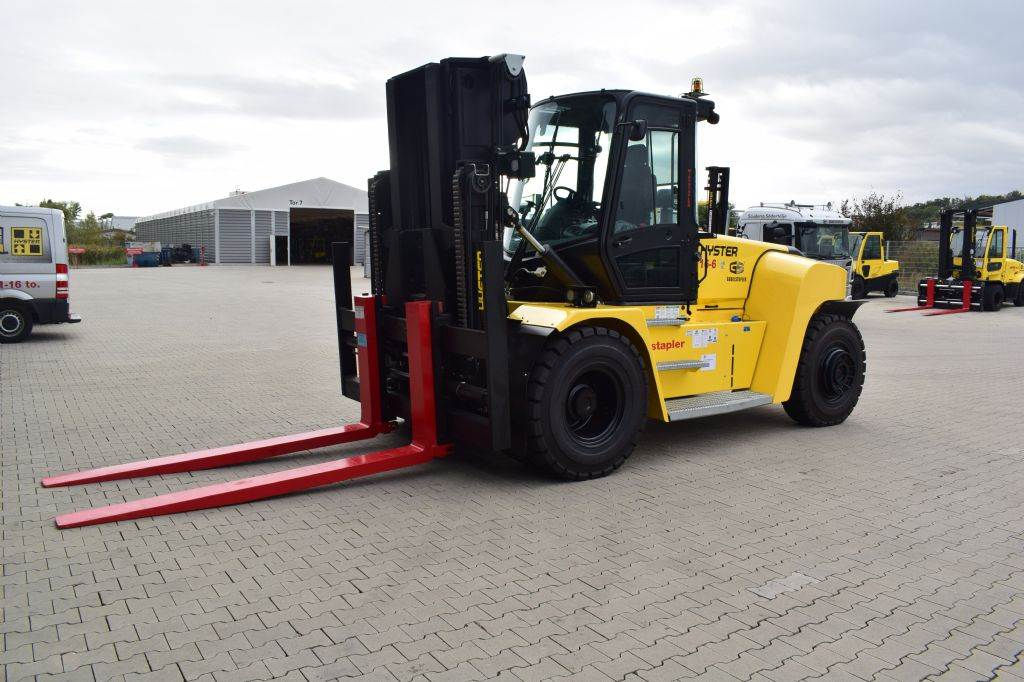 Hyster H 16.00 XM6, Diesel counterbalance Forklifts, Material Handling