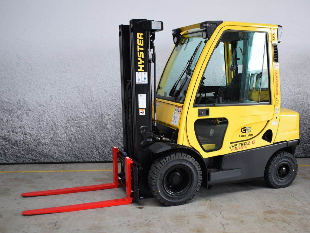 Hyster H 2.50 FT D, Diesel counterbalance Forklifts, Material Handling