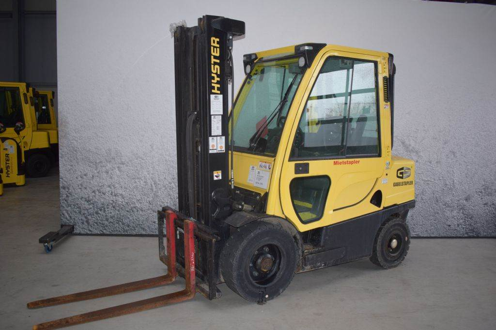 Hyster H 3.00 FT D, Diesel counterbalance Forklifts, Material Handling